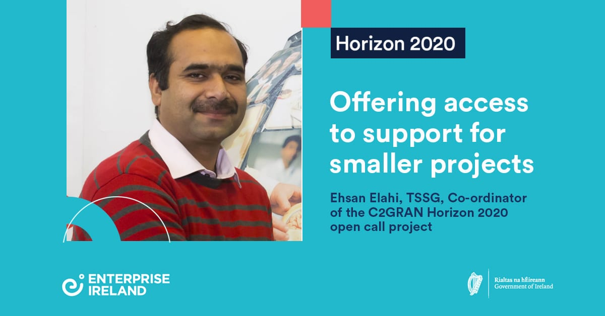 Project c2GRAN: Using Horizon 2020 support to reduce 5g energy consumption