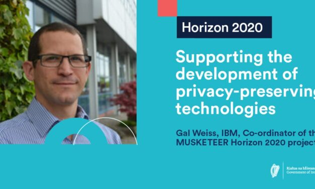 Project MUSKETEER: Supporting the development of privacy-preserving technologies
