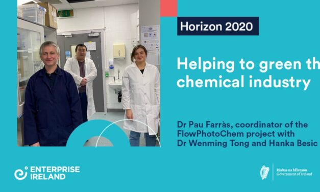 Project FlowPhotoChem: helping to green the chemical industry │NUI Galway