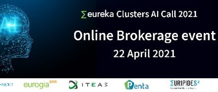 Brokerage event Eureka Clusters AI Call 2021: there is still time to register – 22nd April 2021