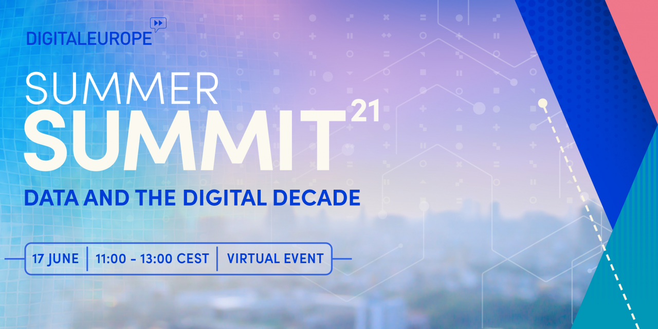 DIGITALEUROPE's Summer Summit Data and the Digital Decade