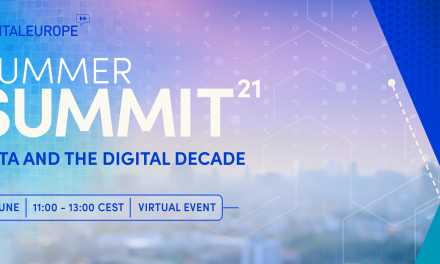 DIGITALEUROPE's Summer Summit Data and the Digital Decade – 17 June 2021