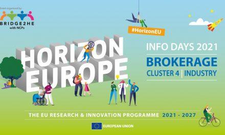 Horizon europe Cluster 4 Industry brokerage event