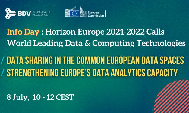 Info Day on Horizon Europe Cluster 4 – Destination 3