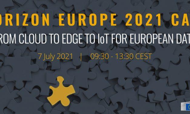 Information and Virtual Brokerage Session: Horizon Europe 2021 Cloud, Edge, IoT