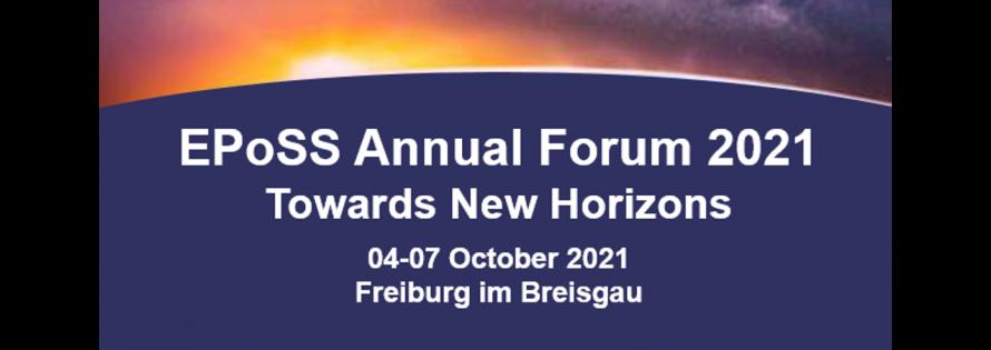EPoSS Annual Forum 2021 image