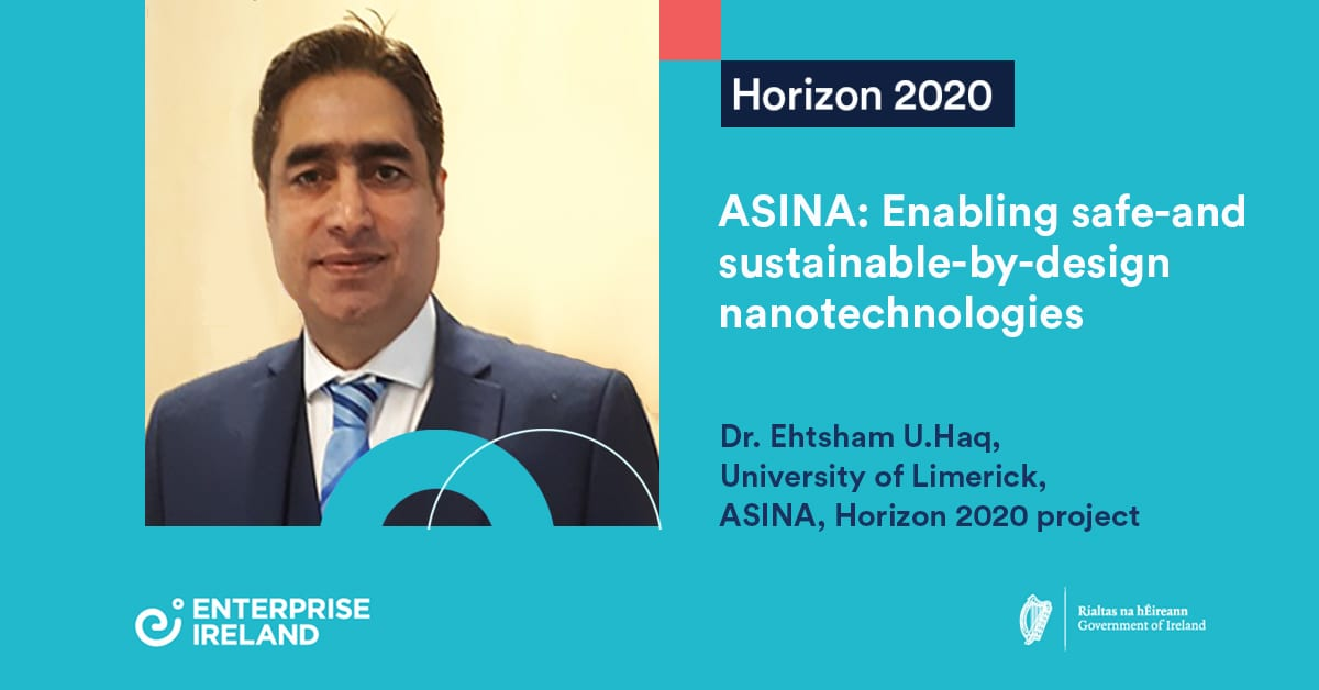 Project ASINA: enabling safe-and sustainable-by-design nanotechnologies