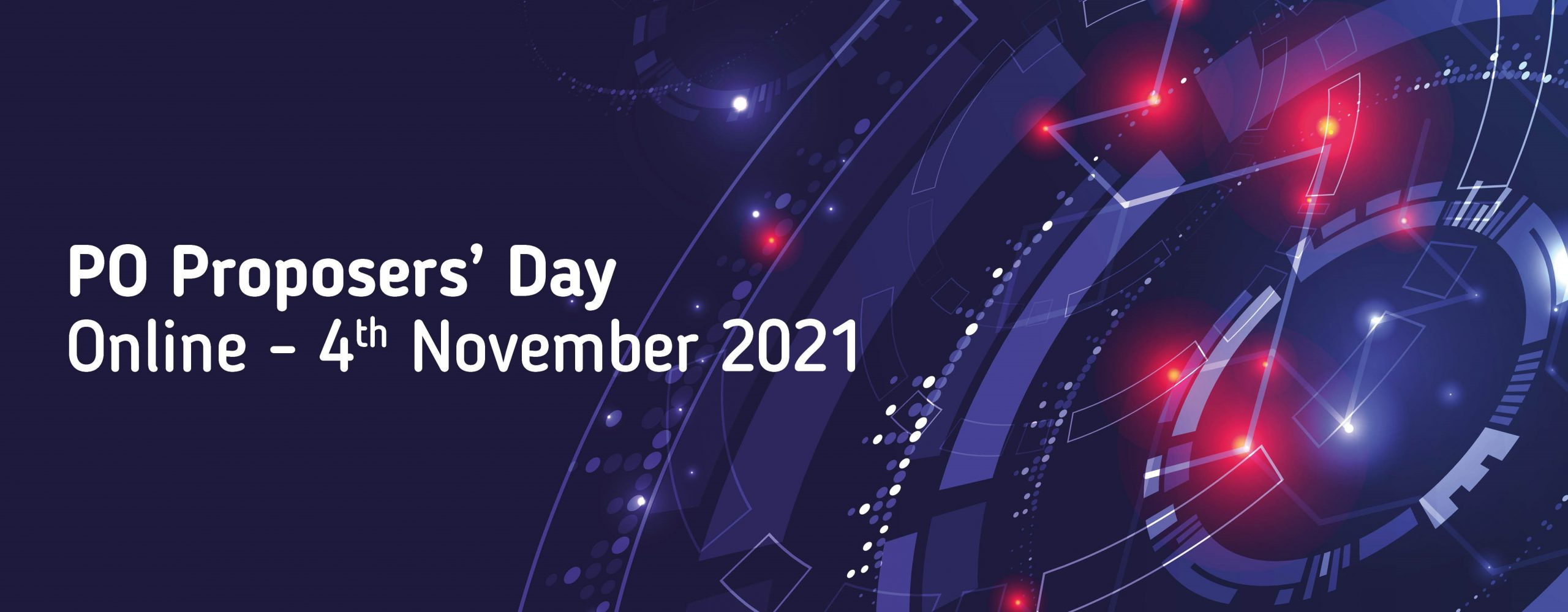 PO Proposers Day 4th November Graphic